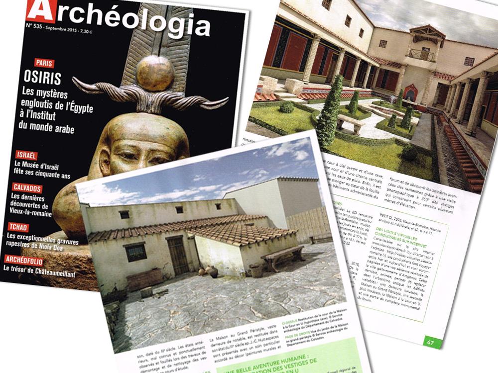 Vieux la Romaine – Revue Archéologia