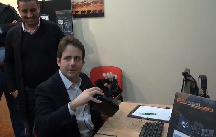 Matthias Fekl et Expert 3D
